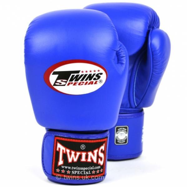 Twins 2 Tone Boxing Gloves Muay Thai Kickboxing Sparring Glove 10oz 12oz 14oz 16