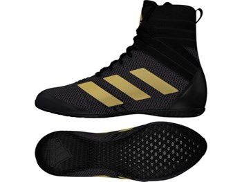 Pro Box Speed Lite senior Boxing Boots Adult Sparring Trainers Black//Gold