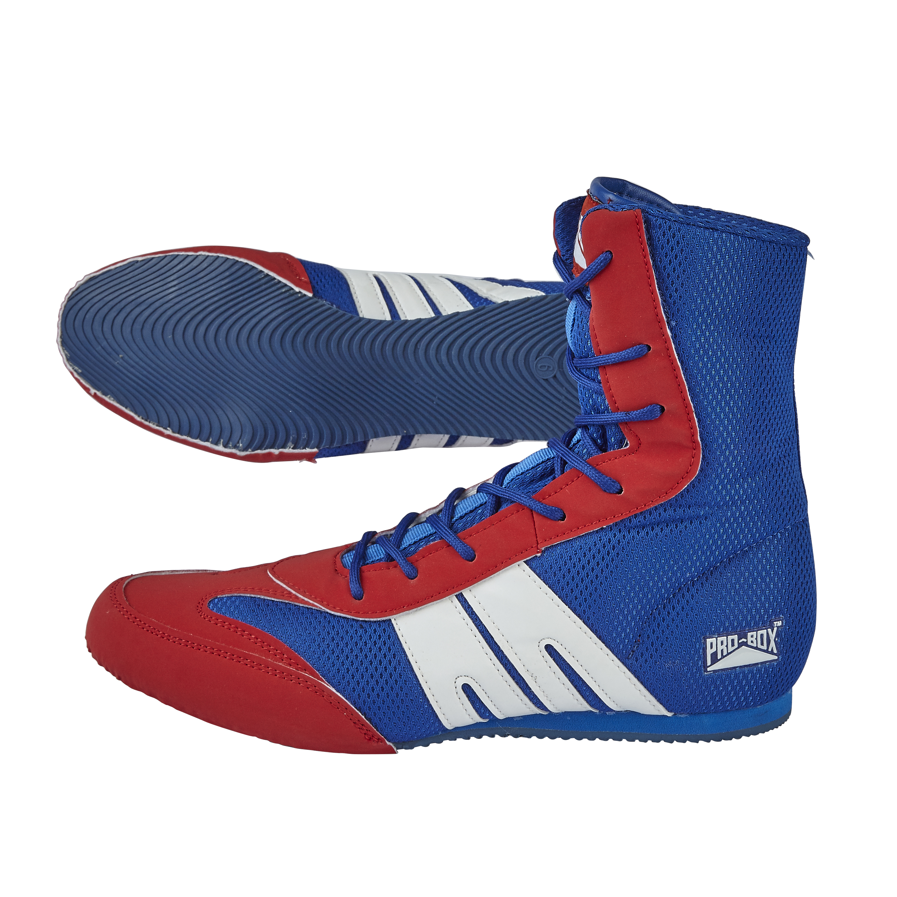 Boots Blue Red