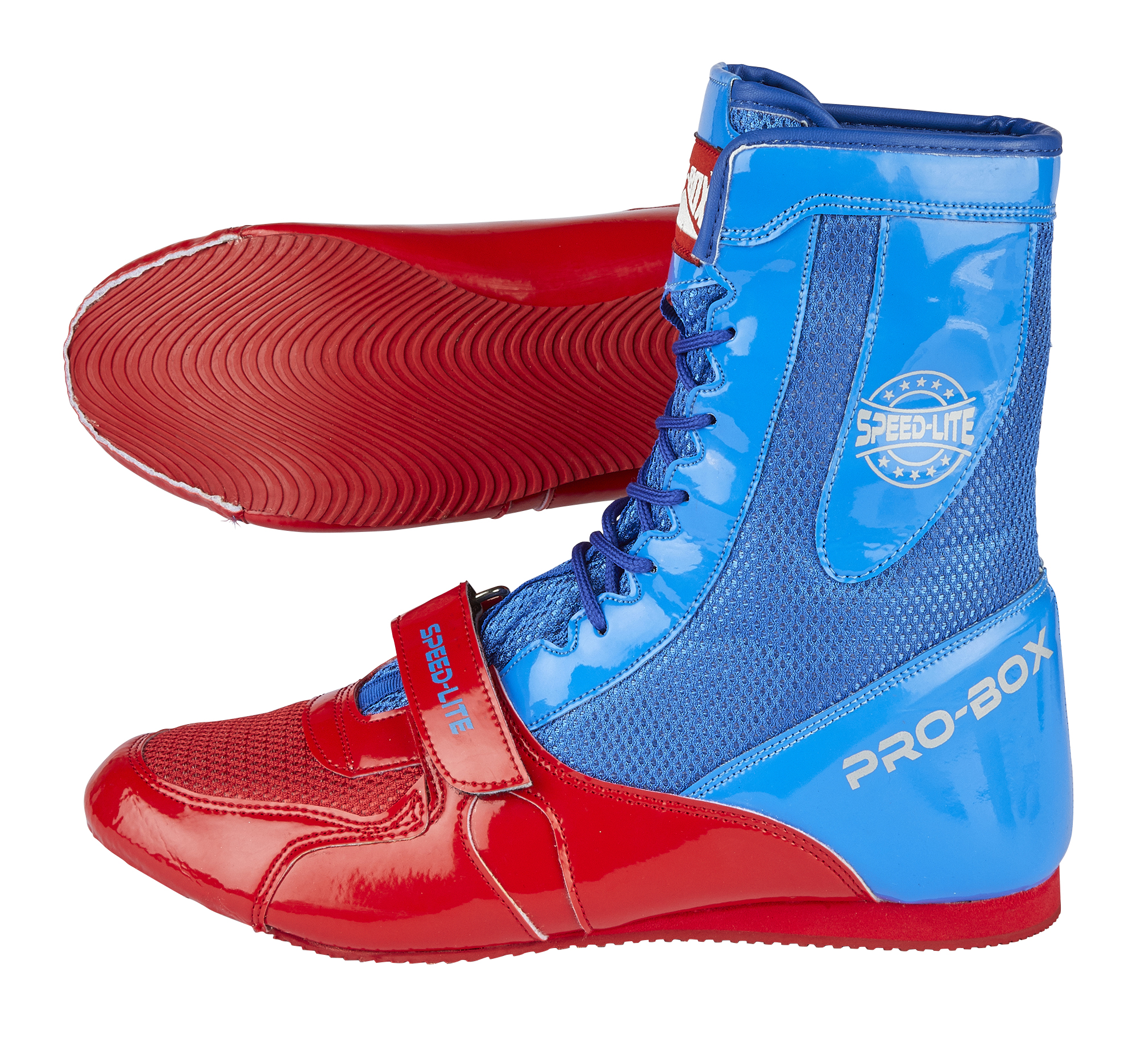 SPEEDLITE BLUE AND RED BOOT