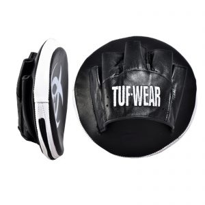 FOCUS MITTS TUF WEAR BOXING CLASSIC BROWN AIR PADS