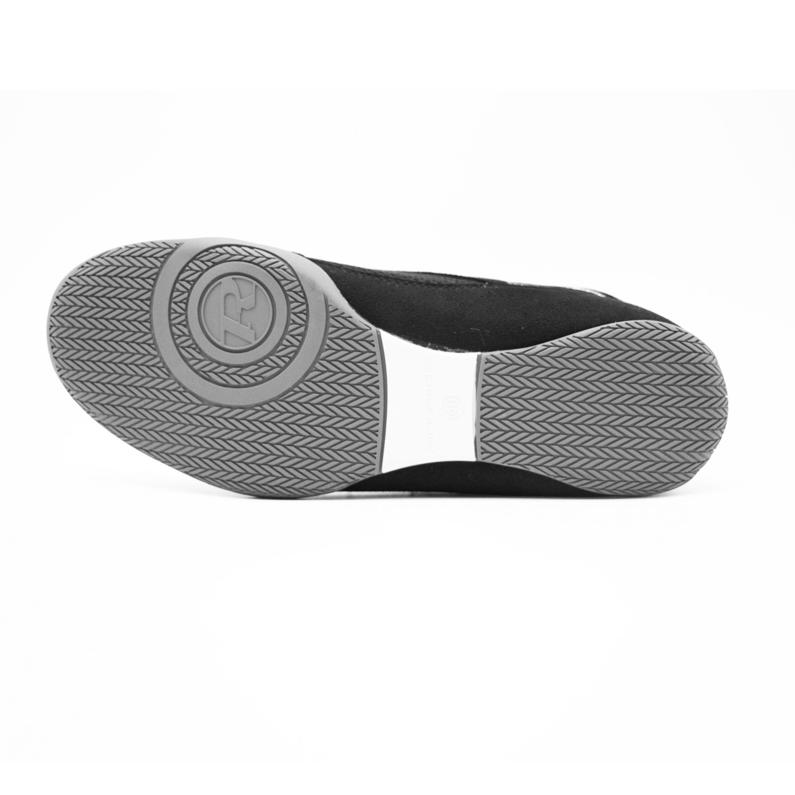 black-silver-sole